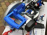 Торцовочная пила c протяжкой Al-Fa ALCM-305i индукционный двигатель, фото 4