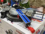Торцовочная пила c протяжкой Al-Fa ALCM-305i индукционный двигатель, фото 8