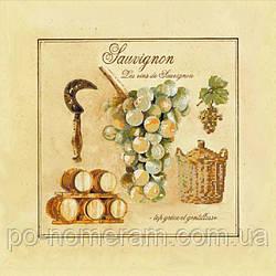Набор для вышивки бисером Идейка Совиньон (ВБ1036) 30 х 30 см