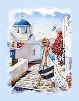 Набор для вышивки бисером Идейка Гречские каникулы (ВБ1042) 30 х 40 см