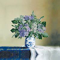 Вышивка бисером картины Идейка Букет сирени (ВБ1050) 30 х 30 см
