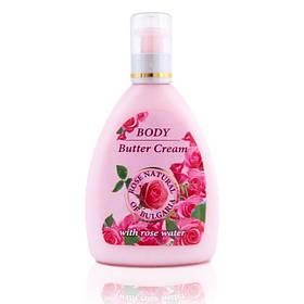 Крем-масло для тела с натуральной розовой водой Rose Natural of Bulgaria