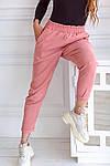 Женские штаны, вельвет, р-р 42-44; 44-46; 48-50 (пудровый), фото 2