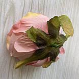 Головка пиона, пионовидной розы 8 см. пудровый, фото 3