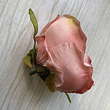 Головка пиона, пионовидной розы 8 см. пудровый, фото 4