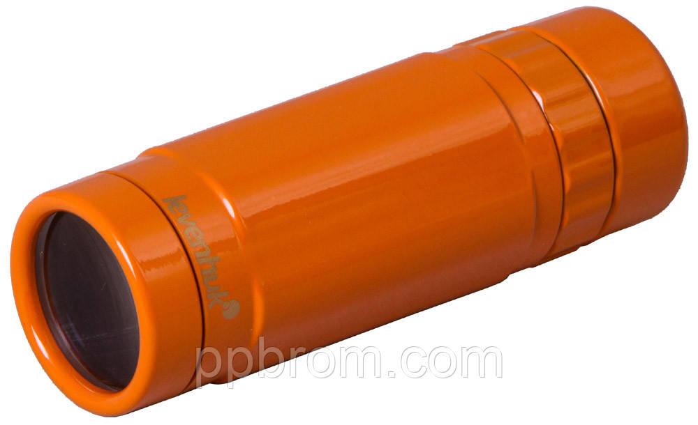 Монокуляр 8x25 Levenhuk Rainbow Sunny Orange