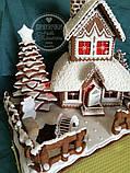 Пряничный дом - терем с действующим дымоходом и витражными окнами, фото 2