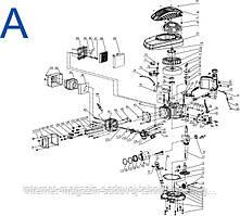 Запчасти для мотокультиватора Sadko Т-370