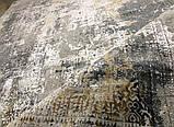 Ковер винтаж классический серый шелковый ковер купить, фото 3