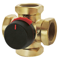 Смесительный клапан 4-ходовой VRG141 ESBE