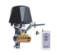 Электропривод шарового крана (сервомотор) G1/2 (DN15A) управляется пультом