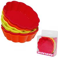 Набор форм для выпечки кексов 7,5*2,2см 6шт