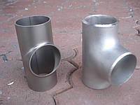 Тройник под молочную нержавеющую трубу 34,0х1,5