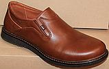 Туфли мужские кожаные от производителя модель ГЛ3385, фото 2