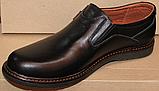 Туфли мужские кожаные от производителя модель ГЛ3385, фото 5