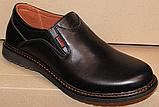 Туфли мужские кожаные от производителя модель ГЛ3385, фото 4