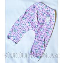 Ясельные штаники под памперс на рост 74-80 см