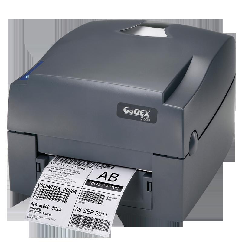 Принтер этикеток Godex G500 (термотрансфер, риббон 300 м)