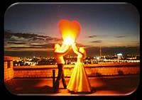 Небесные фонарики сердца низкие цены