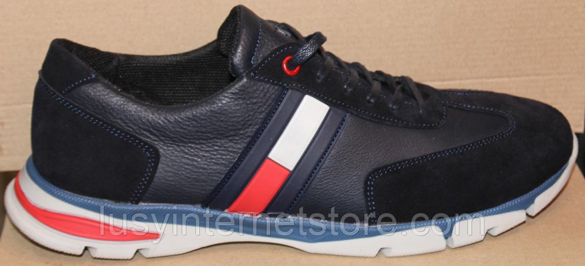Кроссовки мужские кожаные от производителя модель ГЛ3382