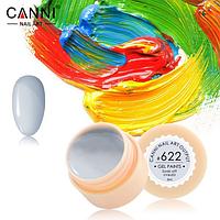 Гель-краска Canni №622 серо-белая, 5 мл