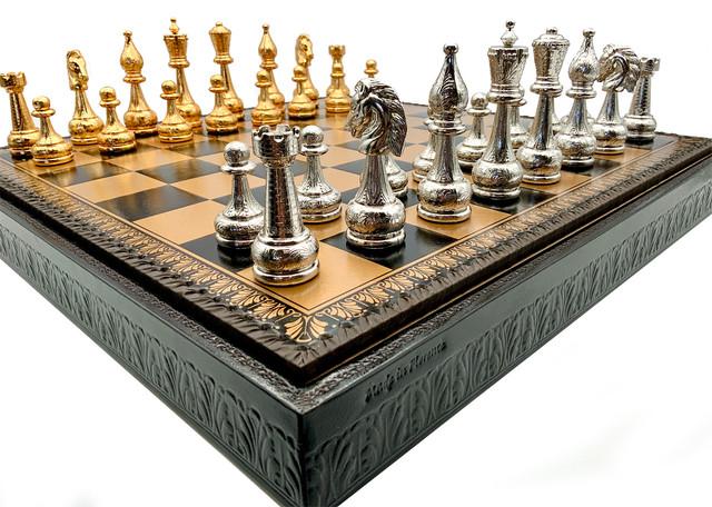 Шахматы итальянские подарочные Italfama