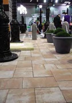 Тротуарная плитка Неолит 600х300 толщина 60 мм (141 кг / м²) колормикс