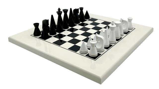 """Коллекция """"Modern"""". Шахматы современные подарочные Italfama."""