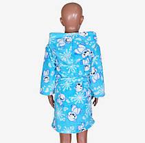 Махровый детский халат на мальчика (M909/01) | 4 шт., фото 2