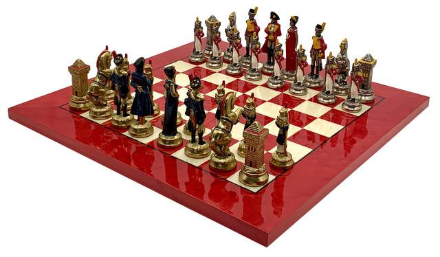 """Коллекция фигур """"Napaleone"""". Шахматы подарочные Italfama."""