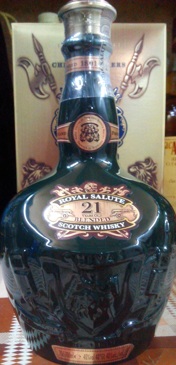 Виски Чивас Роял Салют 21 год / Chivas Royal Salute 21 YO в подарочной упаковке, фото 1