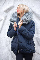 Куртка короткая с мехом