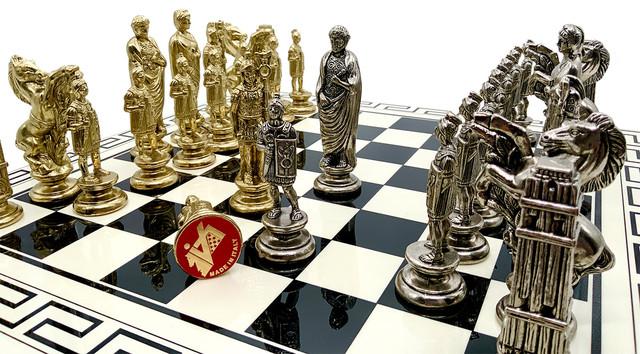 """Коллекция фигур """"Cesare"""". Шахматы классические Italfama."""
