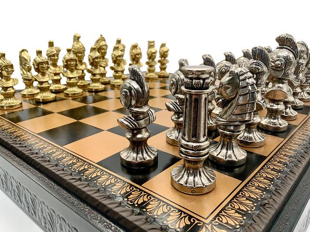 """Коллекция фигур """"Busto Romano"""". Шахматы классические Italfama."""