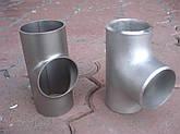 Нержавеющий тройник кислотостойкий 101,6х2,0, фото 2