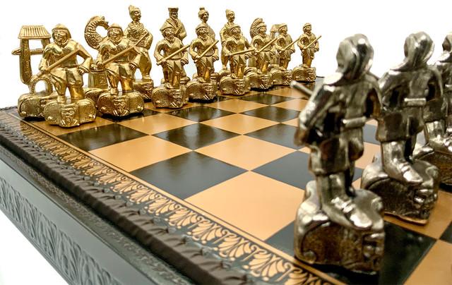 """Коллекция фигур """"Samurai"""". Шахматы классические Italfama."""
