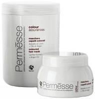Маска для окрашенных волос с экстрактом личи и маслом арганы (Permesse), 1000 мл