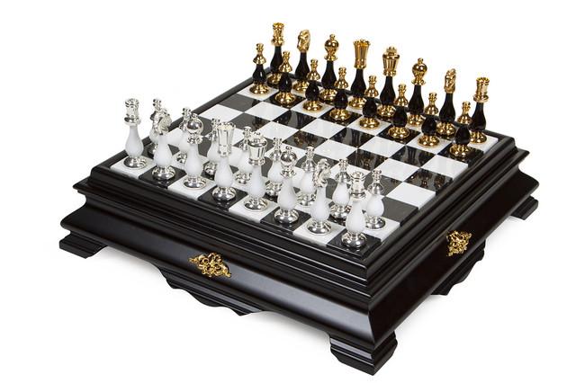 "Коллекция ""Orientale Grande"". Шахматы подарочные элитные Italfama."