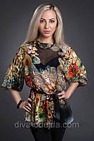 Стильная шифоновая блуза.42-44,46-48