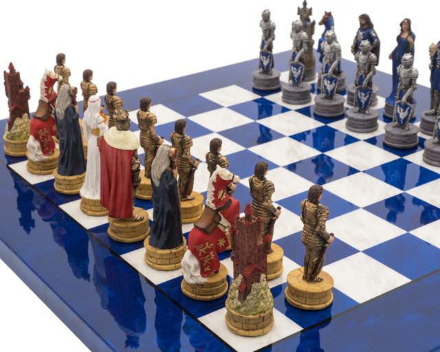 """Коллекция """"King Arthur"""". Шахматы подарочные элитные Italfama."""