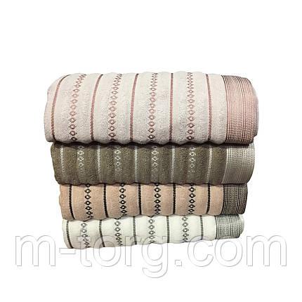 Полотенце баня махровое 70*140 хлопок Турция, фото 2