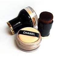 Пудра рассыпчатая Chanel Шанель + кисть