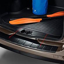 Пластиковая защитная накладка на задний бампер для Renault Dacia Logan MCV II 2012-2020 /оригинал/