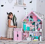 """""""Вилла София"""" Кукольный домик NestWood LOL/OMG/Барби, без мебели, МДФ, розовый, фото 2"""