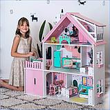 """""""Вилла София"""" Кукольный домик NestWood LOL/OMG/Барби, без мебели, МДФ, розовый, фото 8"""