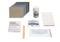 Рятивник для ванн от царапин - комплект полировочной наждачной бумаги с полиролью для царапин ванн