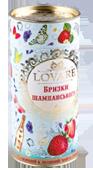 Чай Черный и Зеленый Брызги шампанского LOVARE 80 гр. тубус