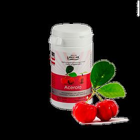 Ацерола в таблетках Acerola Природный Витамин С Вивасан Швейцария 60 шт