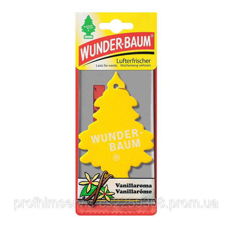 Ароматизатор елочка Wunder-Baum Vanilla