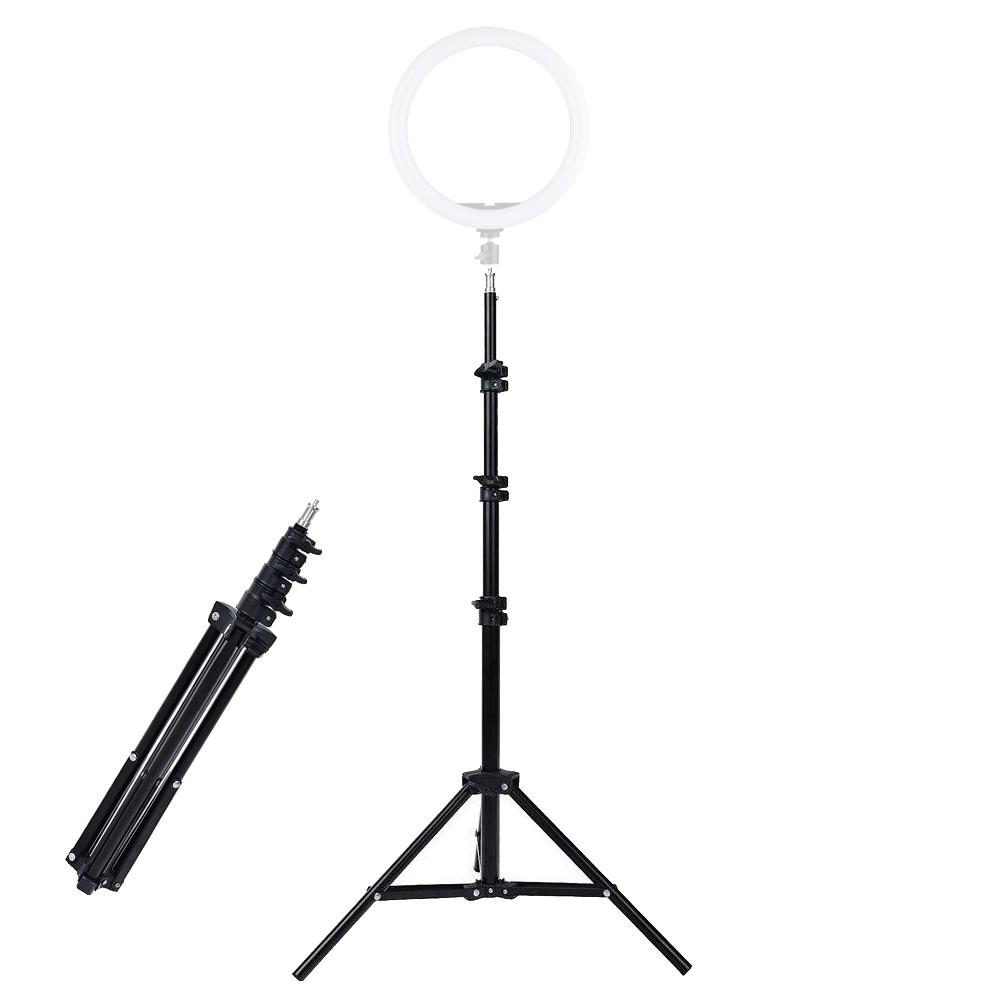 Штатив-тренога для кольцевых ламп и фотоаппаратов универсальный трипод высотой 2м RL-STAND-1.6M